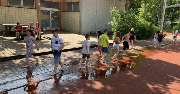 Wasserspaß in der EFöB