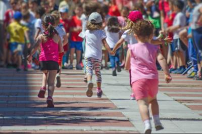 Sport- und Spielefest in der Schulanfangsphase